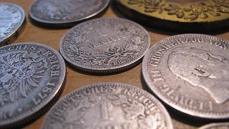 Zilveren munt verkopen